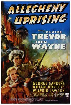 Allegheny Uprising - 27 x 40 Movie Poster - Style A