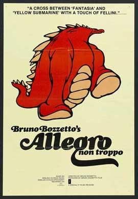 Allegro Non Troppo - 11 x 17 Movie Poster - Style A