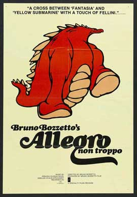 Allegro Non Troppo - 27 x 40 Movie Poster - Style A