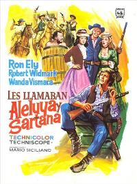 Alleluja & Sartana Are Sons... Sons of God - 11 x 17 Movie Poster - Spanish Style A