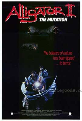 Alligator 2: The Mutation - 11 x 17 Movie Poster - Style A