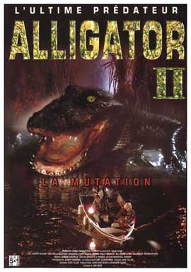 Alligator 2: The Mutation - 27 x 40 Movie Poster - French Style A