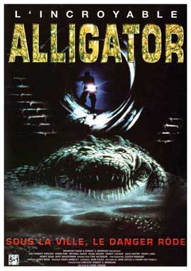 Alligator - 11 x 17 Movie Poster - French Style A