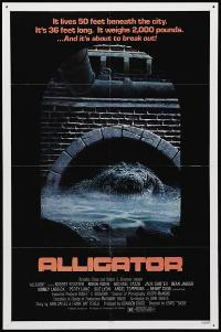 Alligator - 43 x 62 Movie Poster - Bus Shelter Style A