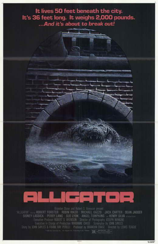 Alligator Movie Posters From Movie Poster Shop