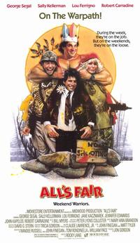 All's Fair - 11 x 17 Movie Poster - Style A