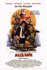 All's Fair - 27 x 40 Movie Poster - Style A