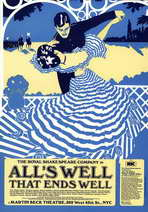 Alls Well That Ends Well (Broadway) - 11 x 17 Poster - Style A