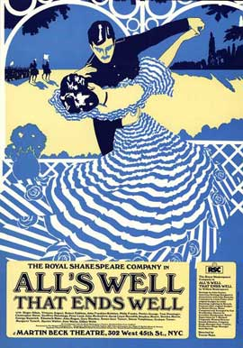 Alls Well That Ends Well (Broadway) - 27 x 40 Poster - Style A