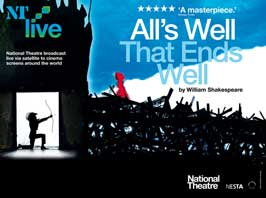 All's Well That Ends Well (stage play) - 43 x 62 Movie Poster - Bus Shelter Style A