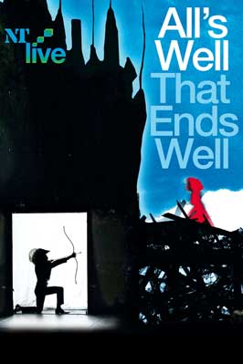 All's Well That Ends Well (stage play) - 43 x 62 Movie Poster - Bus Shelter Style B