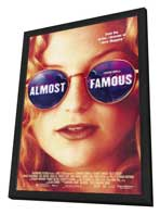 Almost Famous - 11 x 17 Movie Poster - Style A - in Deluxe Wood Frame