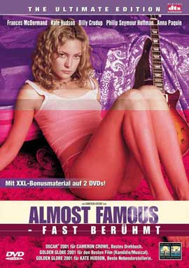 Almost Famous - 11 x 17 Movie Poster - German Style A