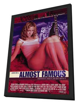Almost Famous - 11 x 17 Movie Poster - Style B - in Deluxe Wood Frame