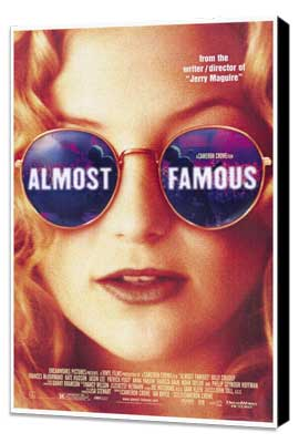 Almost Famous - 27 x 40 Movie Poster - Style A - Museum Wrapped Canvas