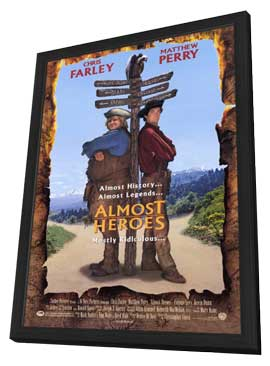 Almost Heroes - 27 x 40 Movie Poster - Style A - in Deluxe Wood Frame