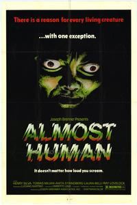 Almost Human - 27 x 40 Movie Poster - Style A