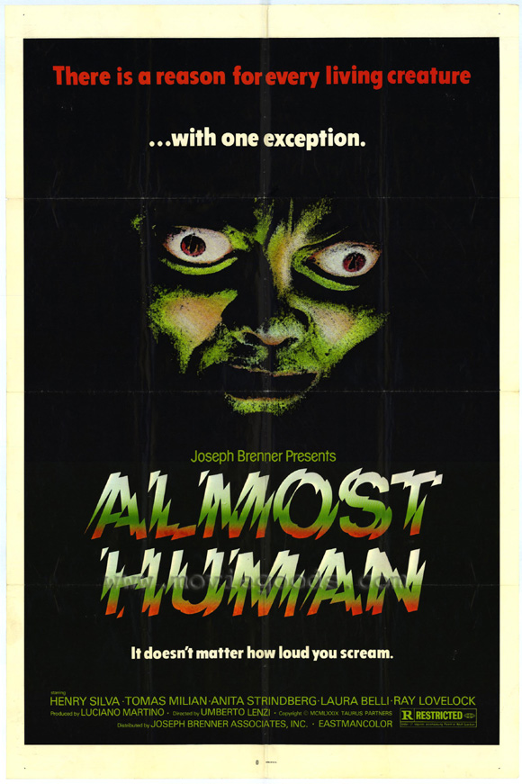 Almost Human Movie Posters From Movie Poster Shop