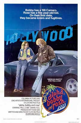 Aloha, Bobby and Rose - 11 x 17 Movie Poster - Style A
