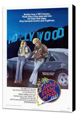 Aloha, Bobby and Rose - 27 x 40 Movie Poster - Style A - Museum Wrapped Canvas