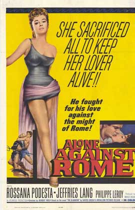 Alone Against Rome - 11 x 17 Movie Poster - Style A