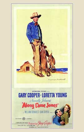 Along Came Jones - 11 x 17 Movie Poster - Style A