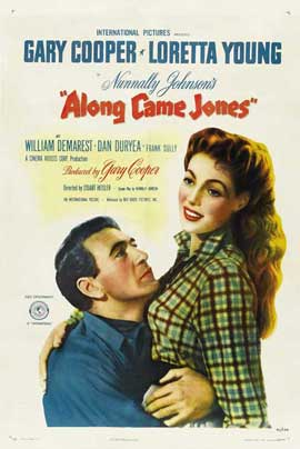 Along Came Jones - 27 x 40 Movie Poster - Style B