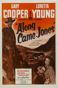Along Came Jones - 27 x 40 Movie Poster - Style C