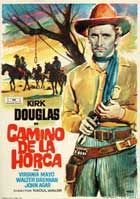 Along the Great Divide - 11 x 17 Movie Poster - Spanish Style A