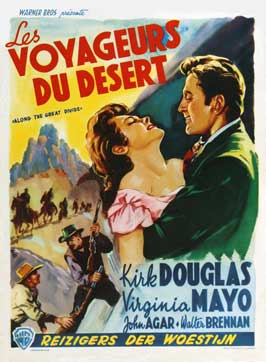 Along the Great Divide - 27 x 40 Movie Poster - Belgian Style A