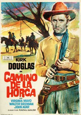 Along the Great Divide - 27 x 40 Movie Poster - Spanish Style A