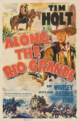 Along the Rio Grande - 27 x 40 Movie Poster - Style A