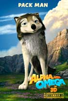Alpha and Omega - 27 x 40 Movie Poster - Style D