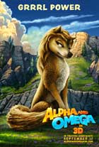 Alpha and Omega - 43 x 62 Movie Poster - Bus Shelter Style E