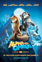 Alpha and Omega - 43 x 62 Movie Poster - Bus Shelter Style B