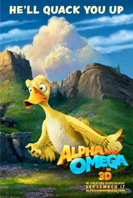 Alpha and Omega - 27 x 40 Movie Poster - Style A