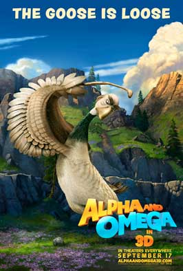 Alpha and Omega - 27 x 40 Movie Poster - Style B