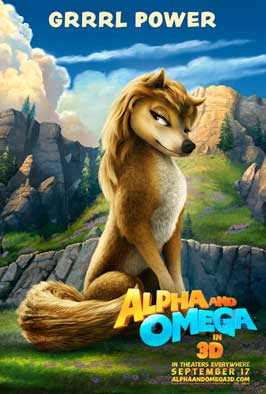 Alpha and Omega - 11 x 17 Movie Poster - Style C