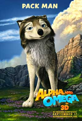 Alpha and Omega - 43 x 62 Movie Poster - Bus Shelter Style A