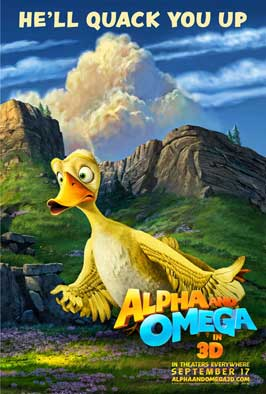 Alpha and Omega - 43 x 62 Movie Poster - Bus Shelter Style C