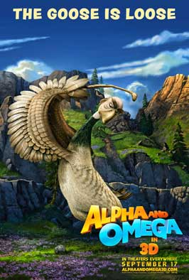 Alpha and Omega - 43 x 62 Movie Poster - Bus Shelter Style D