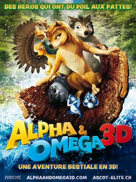 Alpha and Omega - 11 x 17 Movie Poster - German Style A