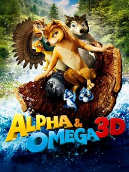 Alpha and Omega - 11 x 17 Movie Poster - Style G