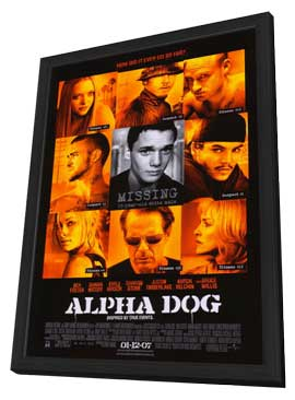 Alpha Dog - 11 x 17 Movie Poster - Style A - in Deluxe Wood Frame