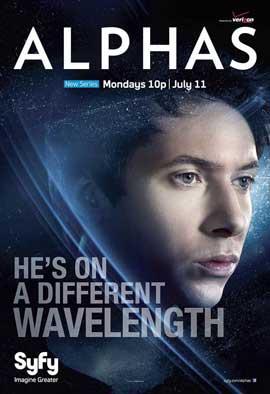Alphas (TV) - 11 x 17 TV Poster - Style D