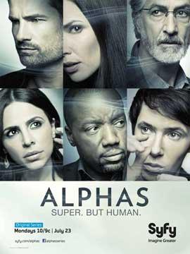 Alphas (TV) - 11 x 17 TV Poster - Style E