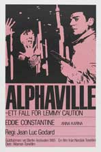 Alphaville - 11 x 17 Movie Poster - Swedish Style A