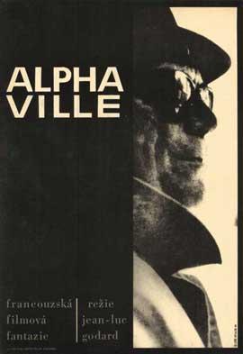 Alphaville - 11 x 17 Movie Poster - Style B
