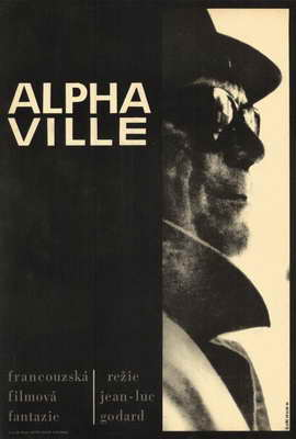 Alphaville - 27 x 40 Movie Poster - Style A