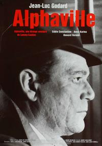 Alphaville - 11 x 17 Movie Poster - German Style A